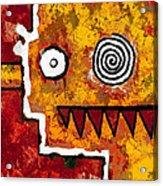 Zeeko - Red And Yellow Acrylic Print