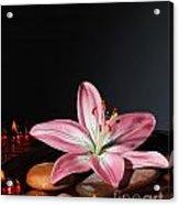 Zen Atmosphere At Spa Salon Acrylic Print