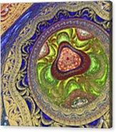 Zen Meditation Acrylic Print