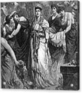 Zenobia (d. After 274 A.d.) Acrylic Print