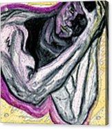 Zeus Acrylic Print by First Star Art