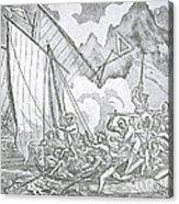 Zheng Yis Pirates Capture John Turner Acrylic Print by Photo Researchers