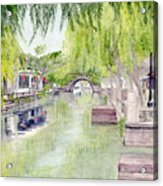 Zhou Zhuang Watertown Suchou China 2006 Acrylic Print