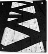 Zigzag  Acrylic Print by Luke Moore