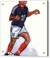 Zinedine Zidane 01 Acrylic Print