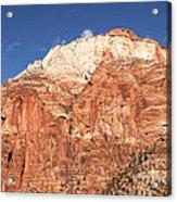 Zion Red Rock Acrylic Print