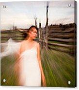 Zoom Walk Acrylic Print