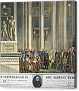 Z.taylor: Inauguration Acrylic Print by Granger