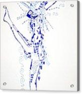 Zulu Dance  South Africa Acrylic Print