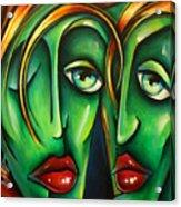 ' Twins ' Acrylic Print