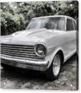 1963 Chevy Nova II Acrylic Print