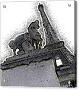 # 4 Paris France Acrylic Print