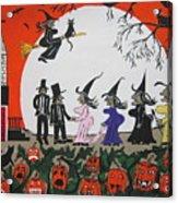 A Halloween Wedding Acrylic Print