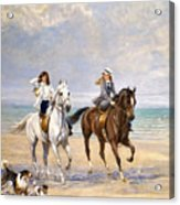 A Ride By The Sea Acrylic Print