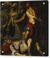 A Roman Execution Acrylic Print