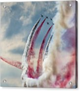 Aerobatic Group Formation  Acrylic Print