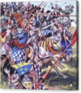 Agincourt The Impossible Victory 25 October 1415 Acrylic Print
