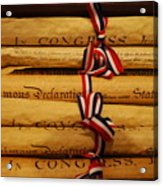 American History Acrylic Print