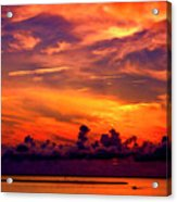 ... And As The Sun Sets On Another Beautiful Day Acrylic Print