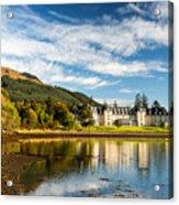 Ardgartan On The Banks Of Loch Long Acrylic Print