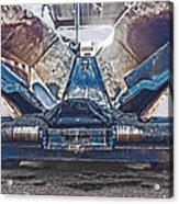 Asphalt Paver Acrylic Print