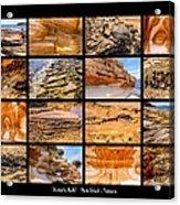 ' Australia Rocks ' - Maria Island - Tasmania Acrylic Print