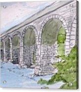 Ballydehob Bridge Ireland Acrylic Print