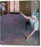 Before The Ballet Acrylic Print
