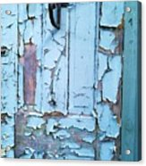 Blue Door In The Old South Acrylic Print