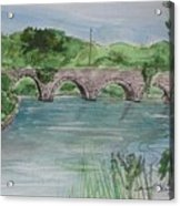 Bridge  In Bunclody, Ireland Acrylic Print