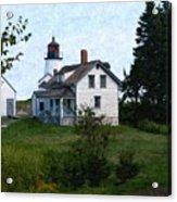 Burnt Island Maine Acrylic Print