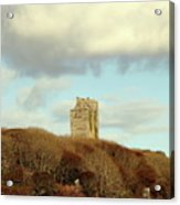 Castle With Sheep Acrylic Print