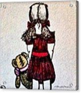 Childhood Lost Acrylic Print
