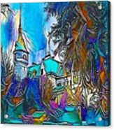 Church Blue - My Www Vikinek-art.com Acrylic Print