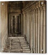 Closed Door Acrylic Print
