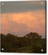 Clouds Of A Distant Storm Acrylic Print
