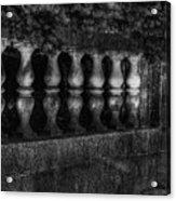 Columns And Pine Acrylic Print