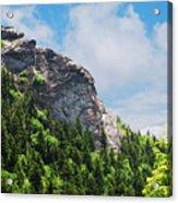 Devil's Courthouse Blue Ridge Mountains Acrylic Print