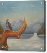 Eagle Bird Of Freedom Acrylic Print