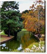 East Canal Acrylic Print