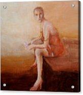 Female Feel-male Gaze Acrylic Print
