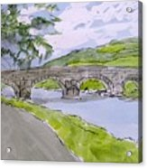 Ferry House Bridge Acrylic Print