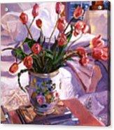 Fresh Tulips Acrylic Print