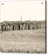 Gettysburg Confederate Infantry 0157s Acrylic Print