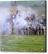Gettysburg Confederate Infantry 7503c Acrylic Print