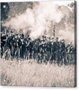 Gettysburg Union Infantry 9360s Acrylic Print