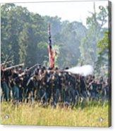 Gettysburg Union Infantry 9372c Acrylic Print