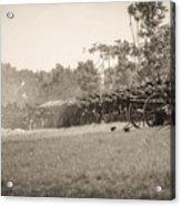 Gettysburg Union Infantry 9968s Acrylic Print