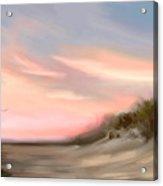 Gulf Sunset  Acrylic Print