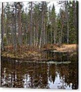 Haukkajoki Panorama 1 Acrylic Print